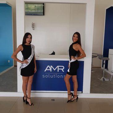 Laborando para congreso con empresa AMR solutions